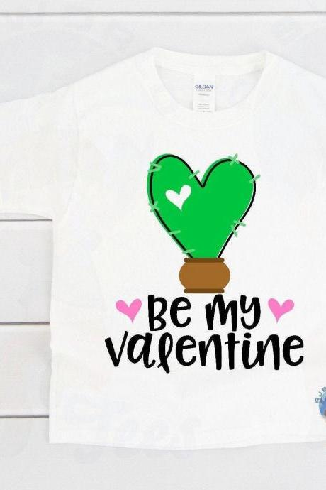 Be My Valentine, Infant Bodysuit Valentine's Day, Toddler Valentine's Day T-shirt, Kids Valentine's Day T-shirt