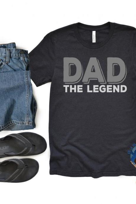 Dad Shirt, Fathers Day Shirt, Husband Shirt, Dad Legend Shirt, Father Gift, Gift For Dad, New Dad, Daddy Shirt