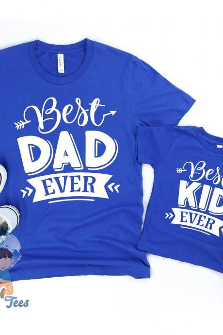 Fathers Day Shirt, Dad And Me Shirts, Best Dad Shirt, Best Kid Shirt, Dad Shirt, New Daddy Shirt, New Dad Shirt, Daddy And Me Shirt
